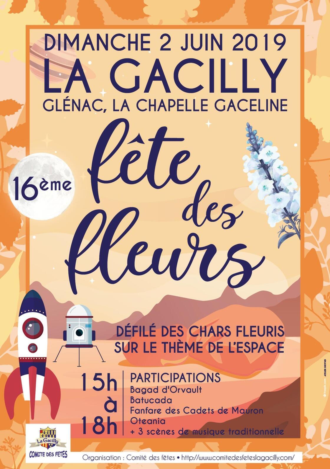 """Résultat de recherche d'images pour """"FETE DES FLEURS 02 JUIN LA GACILLY"""""""