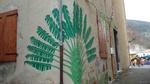 Ravenala madagascariensis - arbre du voyageur - étape rue du Four - mars 2011