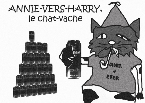 Annie-Vers-Harry, Le Chat-Vache