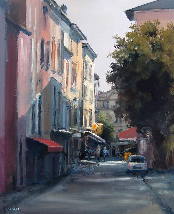 Peinture de : Pascal Giroud
