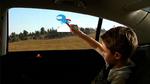 Les vitres arrières latérales interactives
