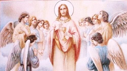 Tu me crées enfant.... Jésus...