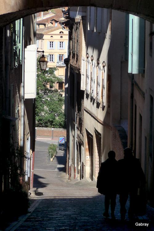 Albi: promenade dans la ville