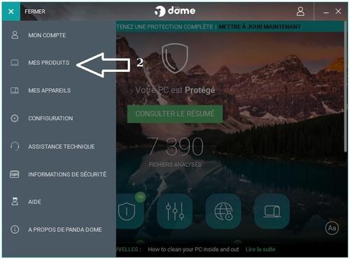 Panda Dome Complete 2018 - Licence 6 mois gratuits