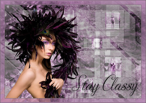*** Stay classy ***