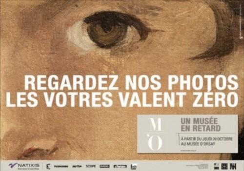Orsay affiche oeil Dorra 1