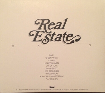 Un album pour aller vers l'été: Real Estate - Days (2011)