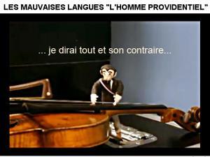 L'homme providentiel - Les mauvaises langues - Vidéo clip et paroles