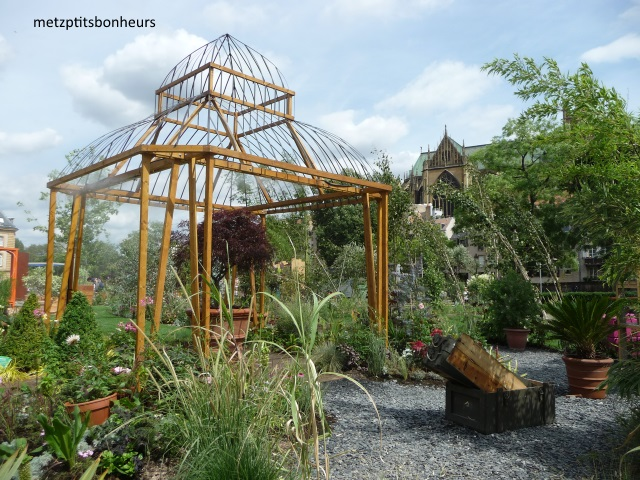 Jardin éphémère à Metz.