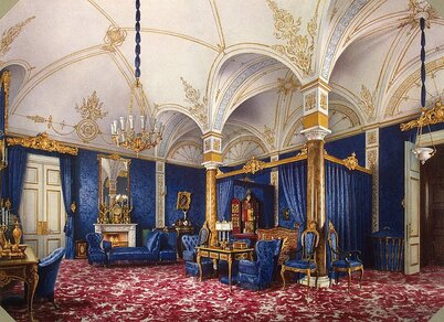 http://www.arthermitage.org/Luigi-Premazzi/Interiors-of-the-Winter-Palace-The-Bedchamber-of-Empress-Maria-Alexandrovna.jpg