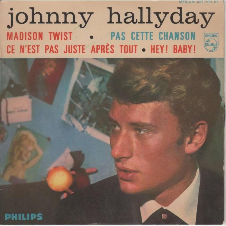 PAS CETTE CHANSON DE JOHNNY HALLYDAY