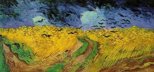 800px-Vincent van Gogh (1853-1890) - Wheat Field with Crows