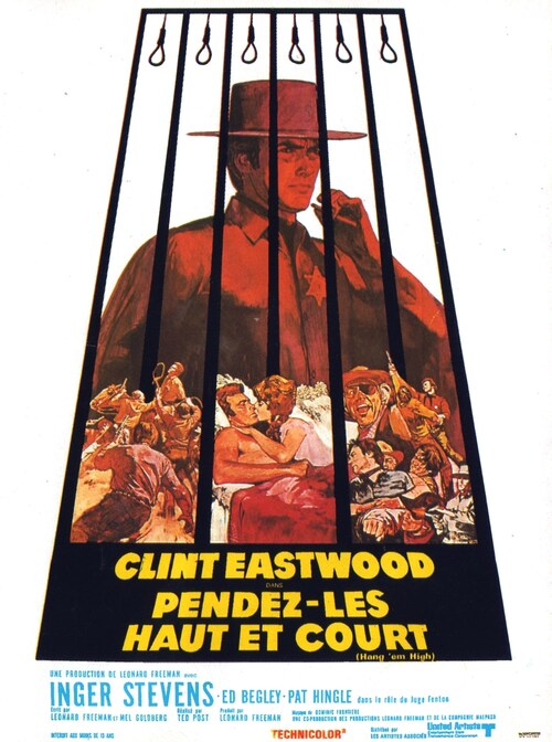 PENDEZ- LES HAUT ET COURT - BOX OFFICE CLINT EASTWOOD 1968