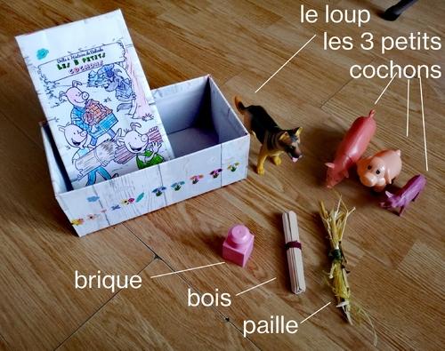la boîte à raconter de Belinda et des poissons à regarder et à croquer