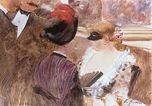 Jean-Louis+FORAIN+(1852-1931)2