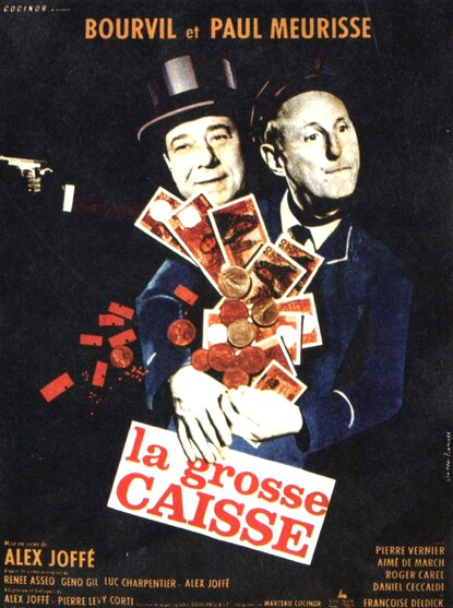 LA GROSSE CAISSE - BOURVIL BOX OFFICE 1965