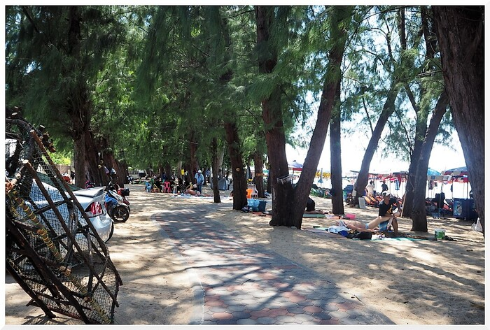 Plage Dongtan-Jomtien - Thaïlande.