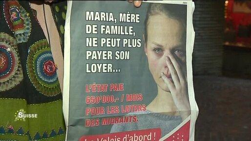 Suisse: l'affiche qui fait scandale