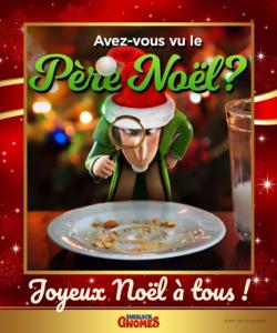 Joyeux Noël avec SHERLOCK GNOMES !