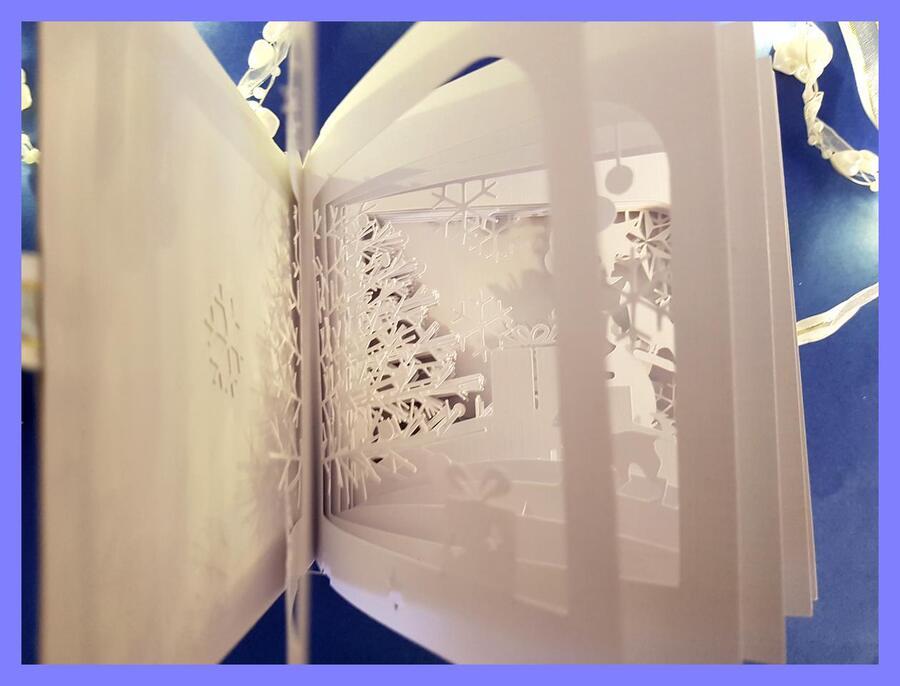 360° book card