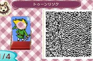 Animal Crossing New Leaf QR Code: Link: