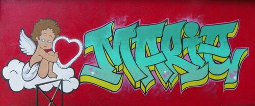 Mur peint à Belley ( 7 )