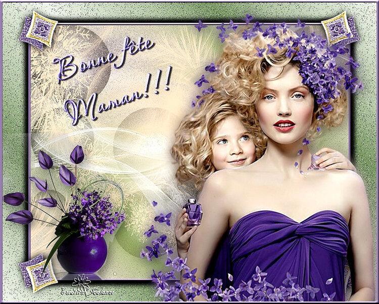 """versions 83 """" bonne fête Maman chérie"""""""