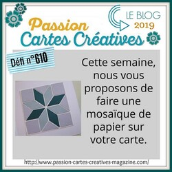 Passion Cartes Créatives#610 !