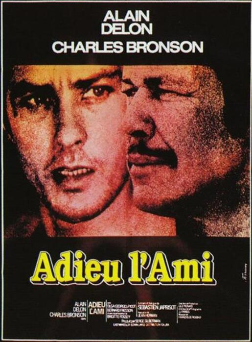 ADIEU L'AMI - ALAIN DELON BOX OFFICE 1968