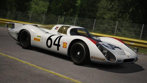 """Porsche 908 Le Mans """"Solido"""" 1/43ème."""