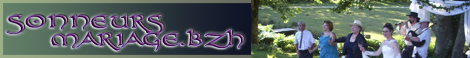 Bannière de sonneursmariage.bzh pour vos liens