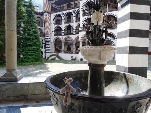 Le monastère de Rila, classé au Patrimoine Mondial de l'UNESCO