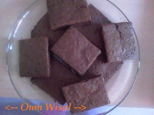 Moelleux fin au chocolat façon mini brownies