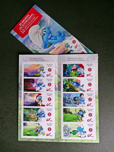 planche de timbres 2018