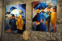 Un artiste peintre à Prinquiau : Pierrick TUAL