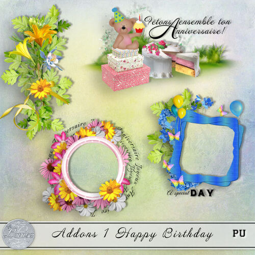 Addons Happy Birthday