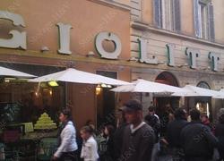 Une glace à Rome