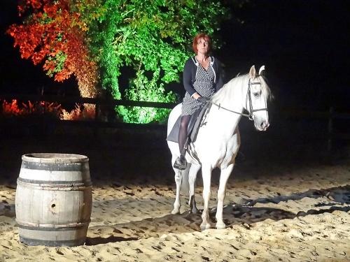 Une belle soirée équestre à Combe Noire...