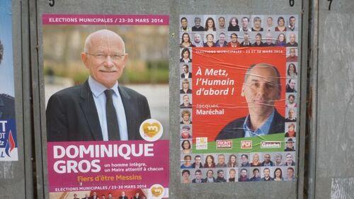 Elections municipales à Metz