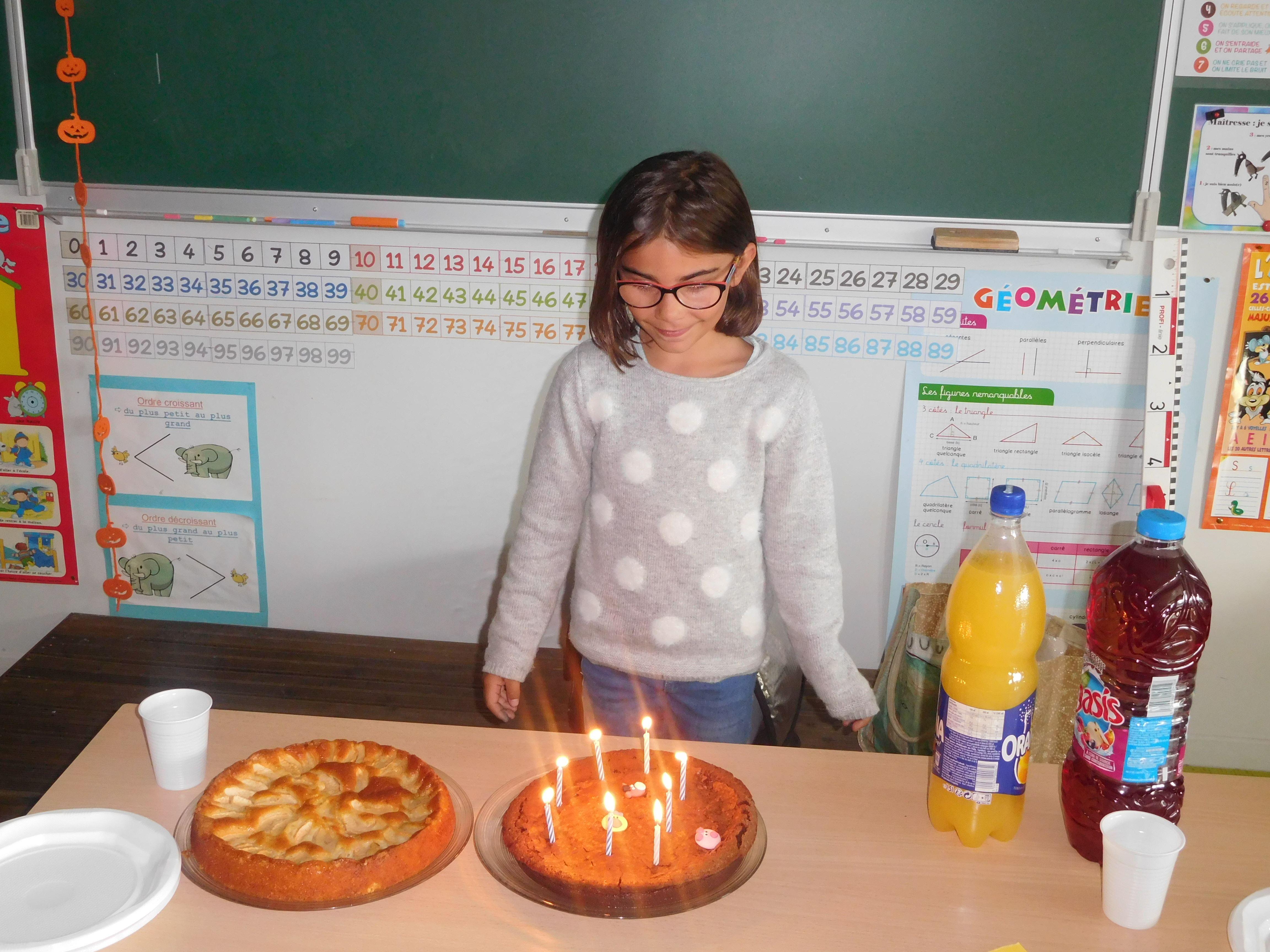 Joyeux Anniversaire Lola La Classe De Noemie