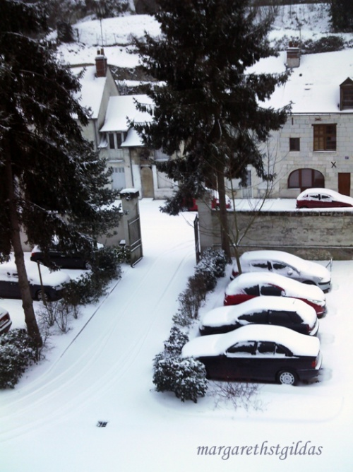 La neige ce matin - The snow this morning