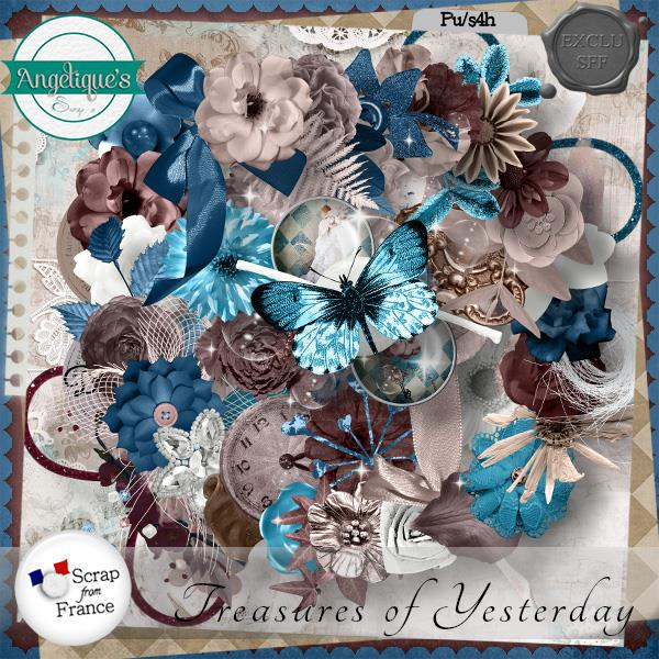 Treasures of Yesterday de Angelique's Scraps