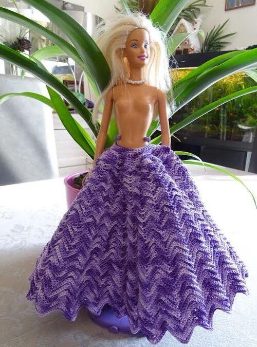 """Vos avancées pour le CALde la robe Barbie """"Jade"""" (3)"""
