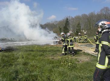 La caserne des pompiers de St Amand