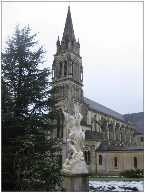Eglise de l'abbaye à Soligny-la-Trappe