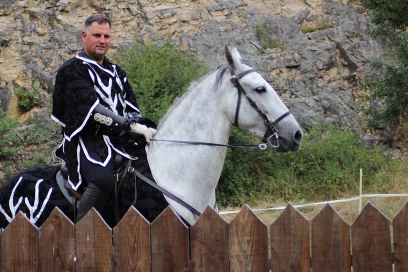 Spectacle de chevaliers