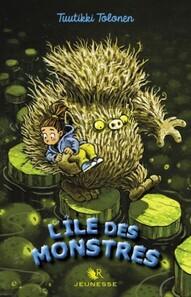 Couverture du livre : Le monstre nounou, T2 : L'Ile des monstres