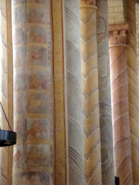 piliers de la nef