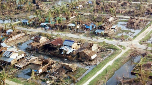 Typhon au Bangladesh
