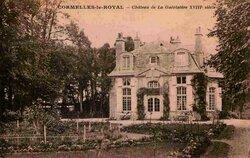 Cormelles-le-Royal, voisine d'Ifs